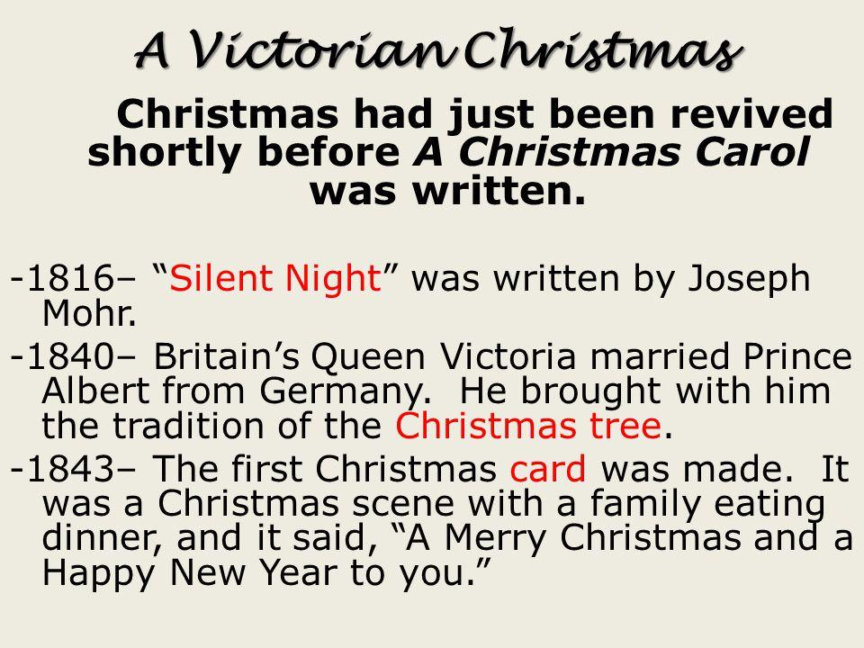 II. Background Information: Victorian England