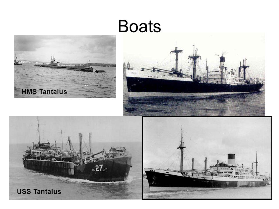 Boats HMS Tantalus USS Tantalus