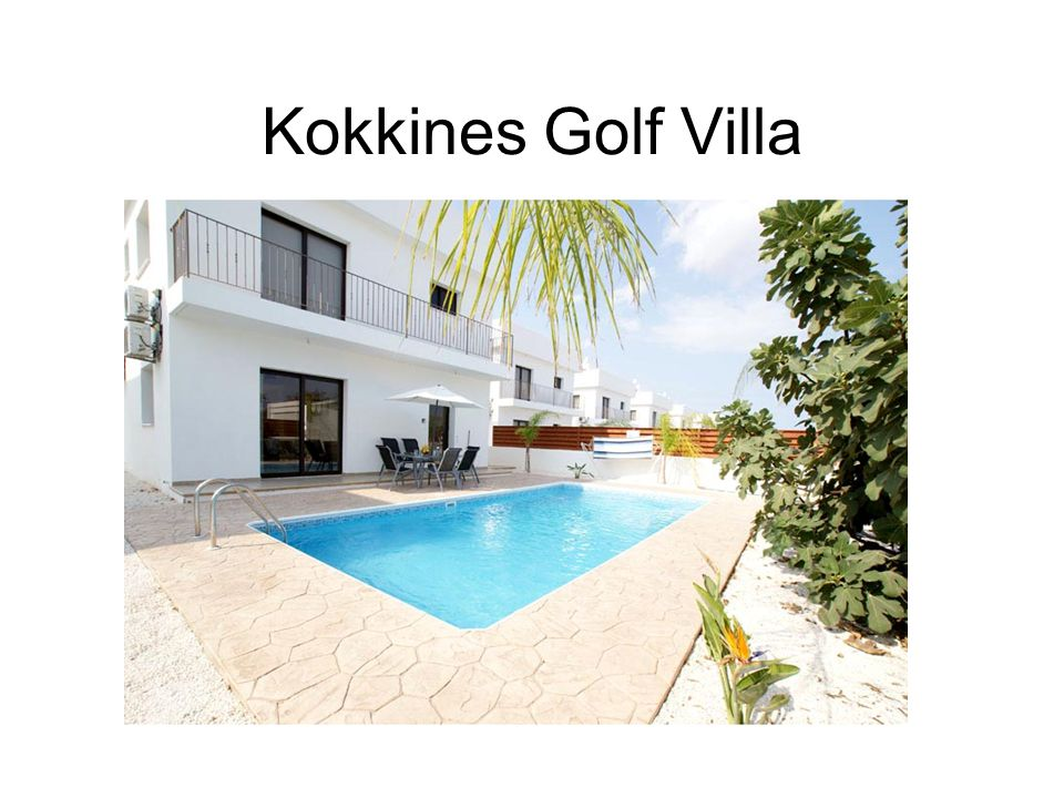 This beautiful detached villa for sale is situated in the residential area of Kokkines on the outskirts of Ayia Napa.