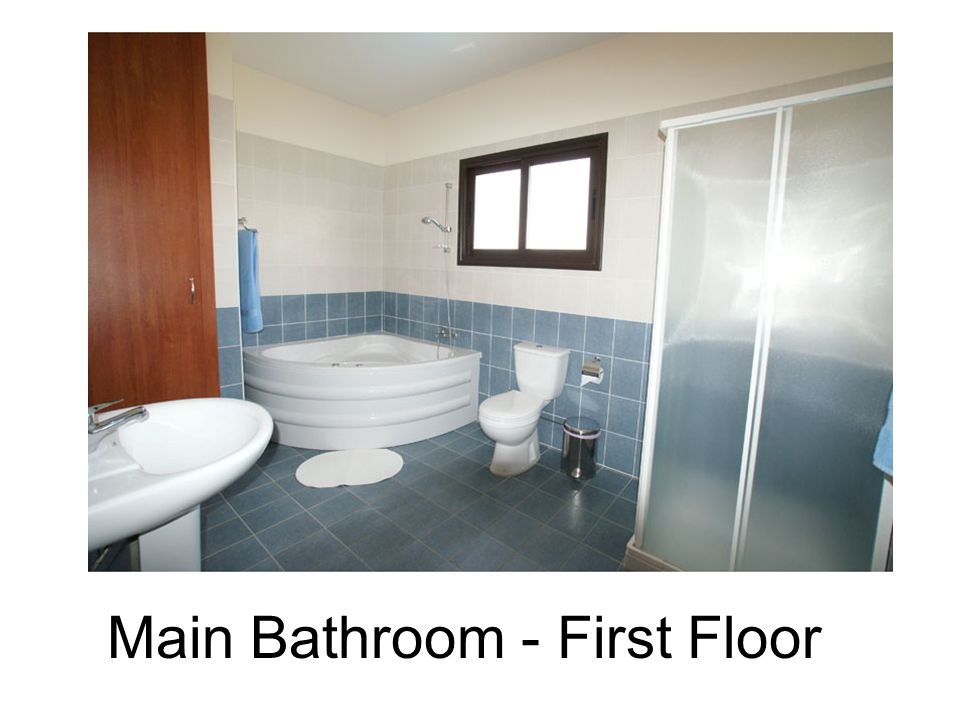 Main Bathroom - First Floor