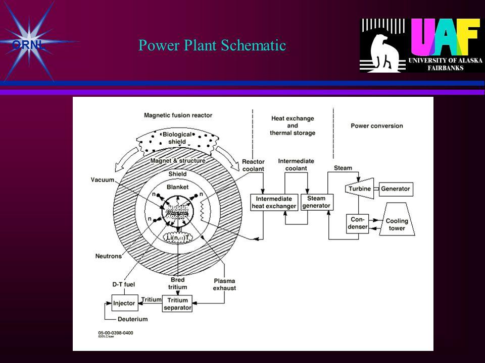ORNL Power Plant Schematic