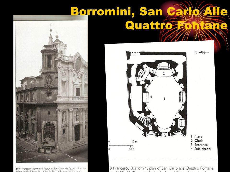 Borromini, San Carlo Alle Quattro Fontane