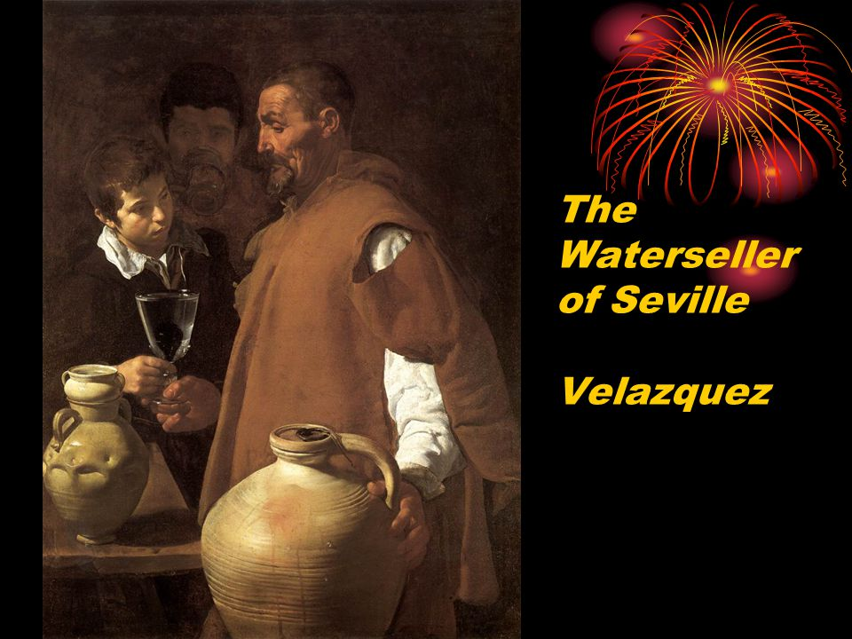 The Waterseller of Seville Velazquez