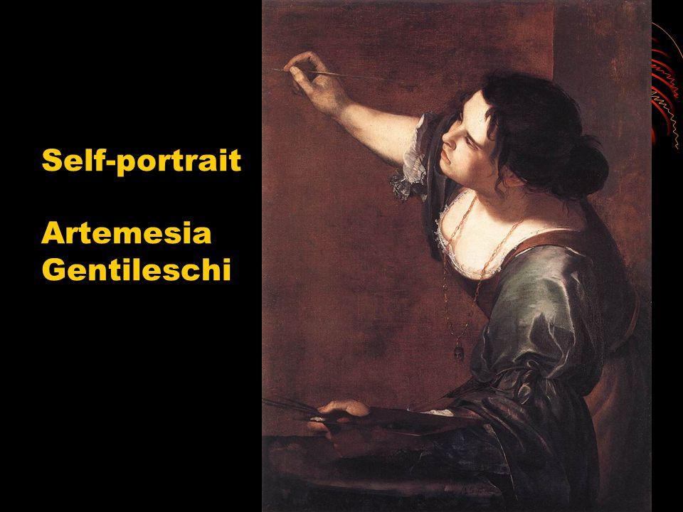 Self-portrait Artemesia Gentileschi