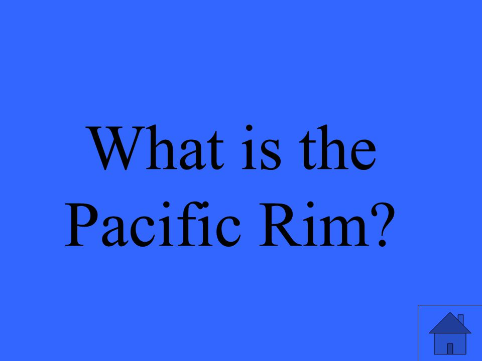What is the Pacific Rim?