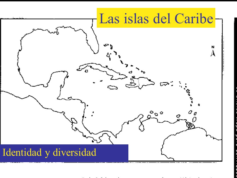 The islands of the Caribbean are diverse More than thirty countries More than thirty three million inhabitants Various languages are spoken, including Spanish, French, English and Dutch.