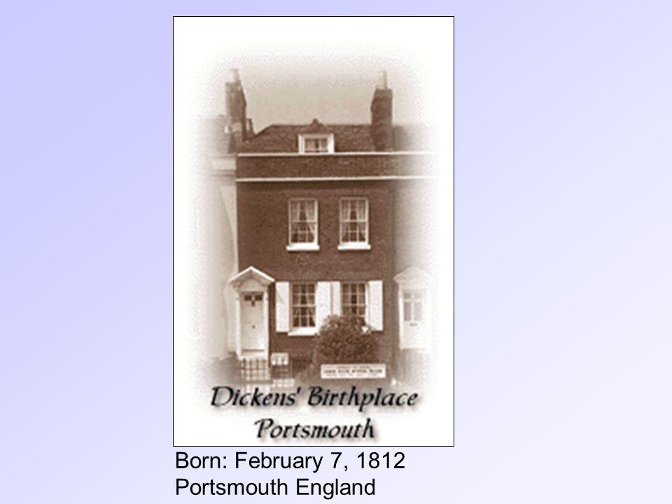 Born: February 7, 1812 Portsmouth England
