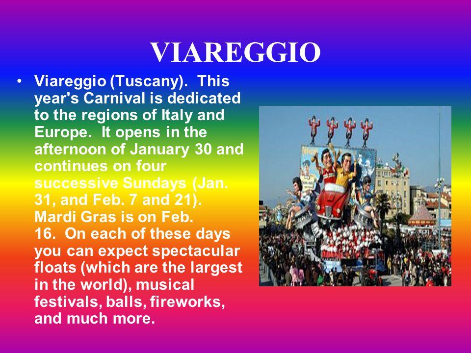 VIAREGGIO Viareggio (Tuscany).
