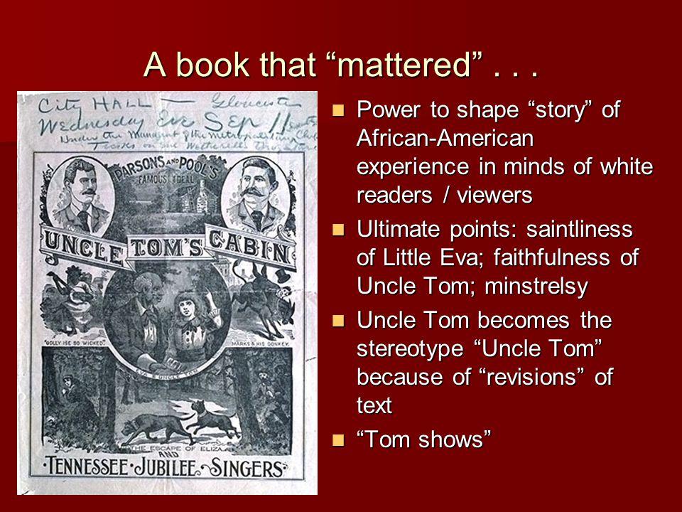 A book that mattered ...