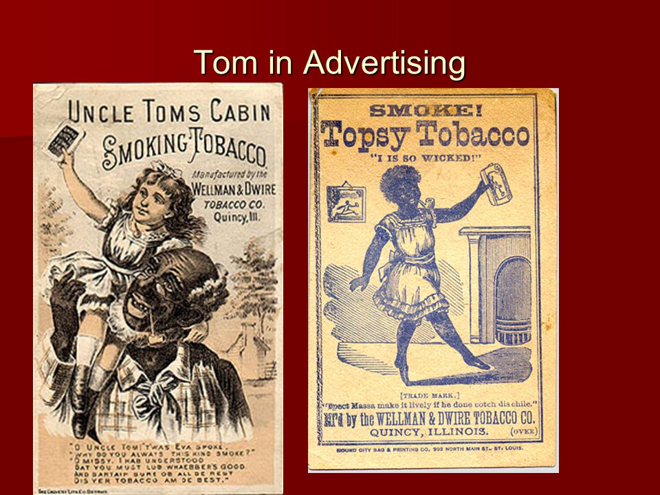 Tom in Advertising