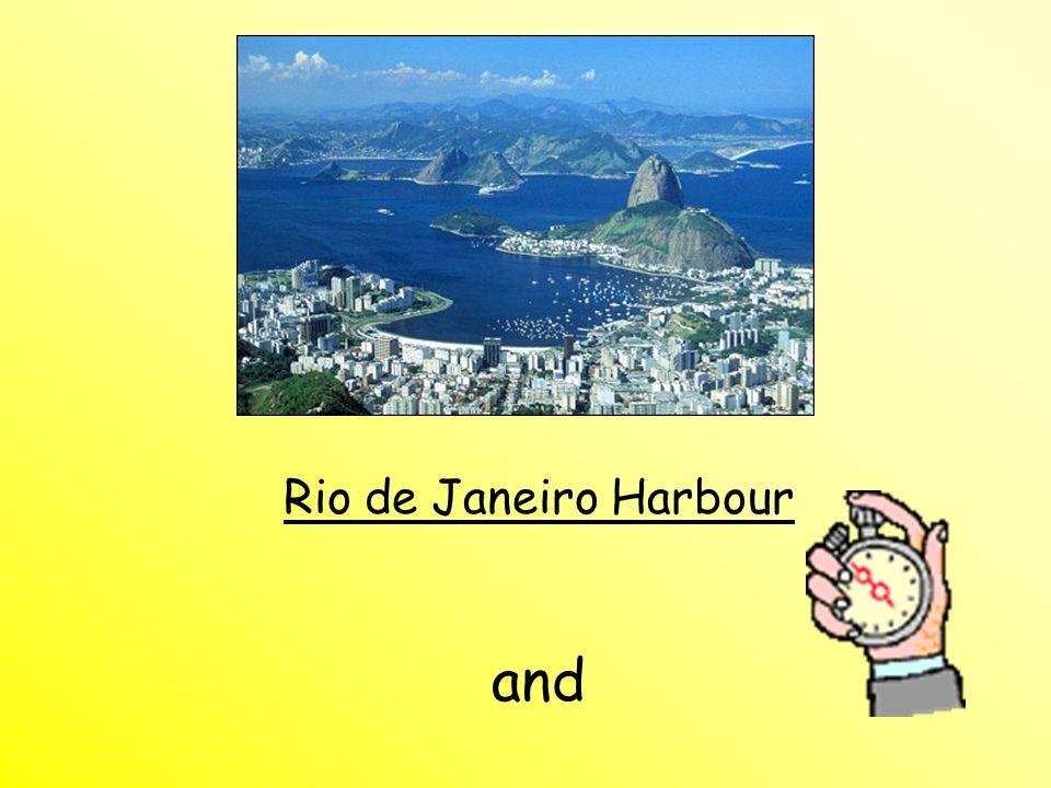 Rio de Janeiro Harbour and