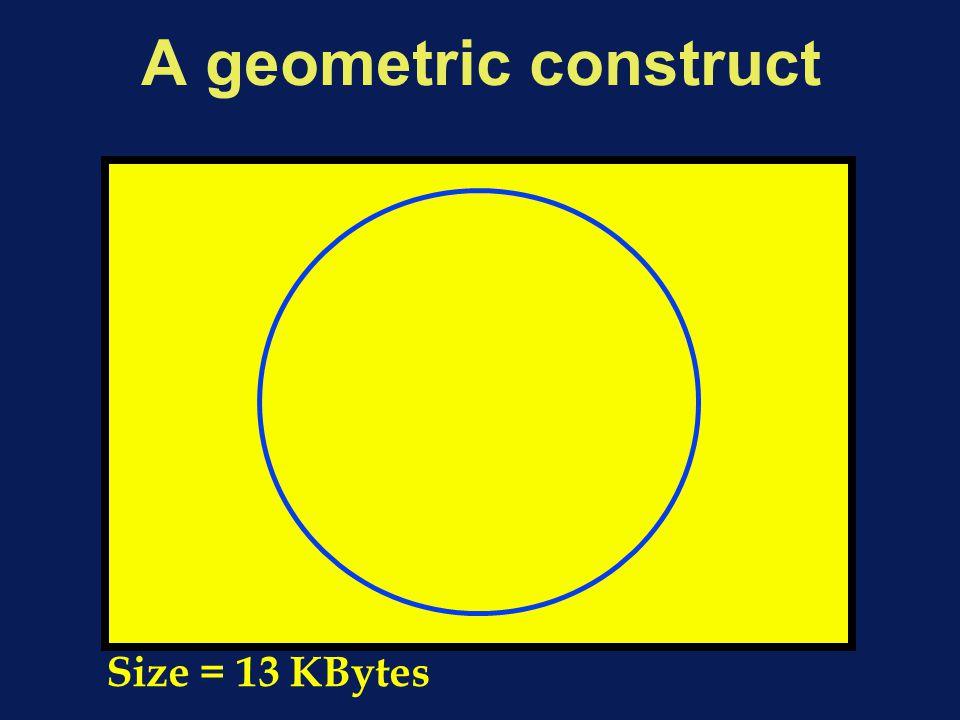 A geometric construct Size = 13 KBytes