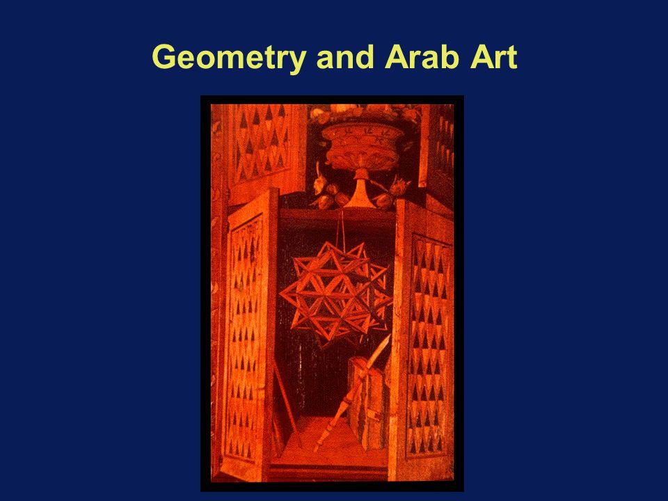 Geometry and Arab Art