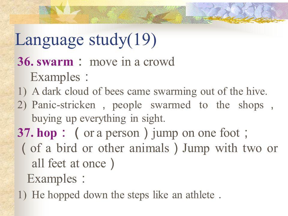 Language study(18) 34.