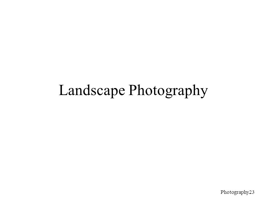Landscape Photography Photography23