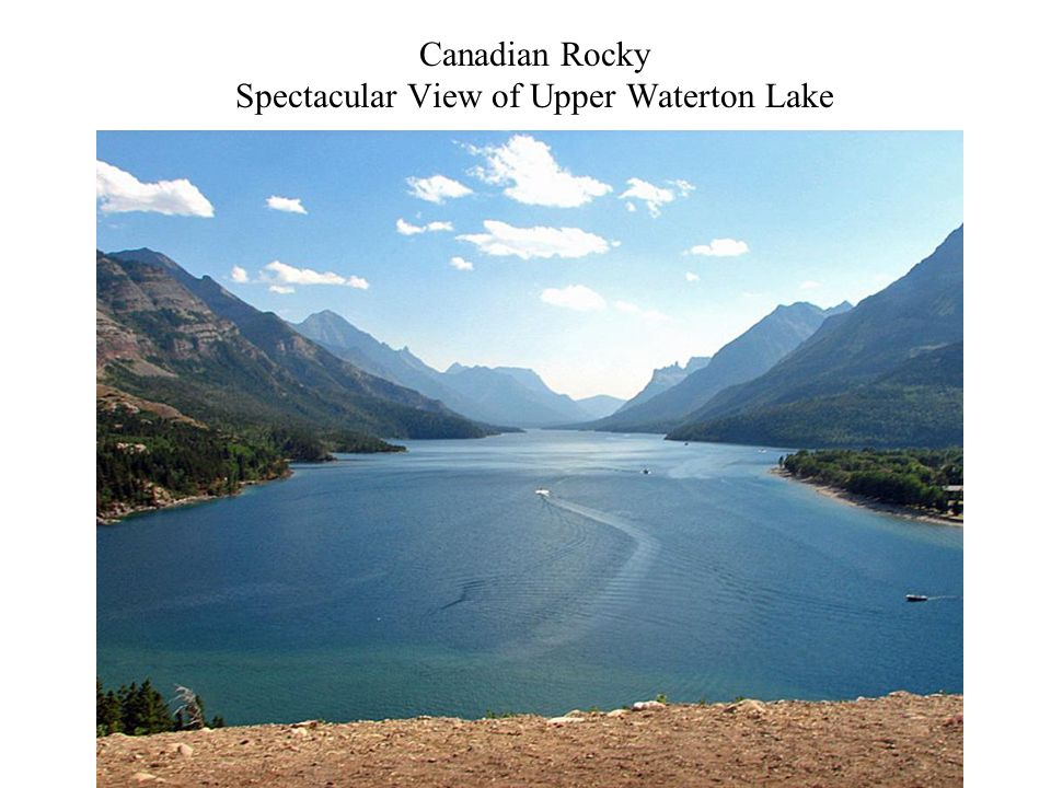 Canadian Rocky Spectacular View of Upper Waterton Lake Photography 25