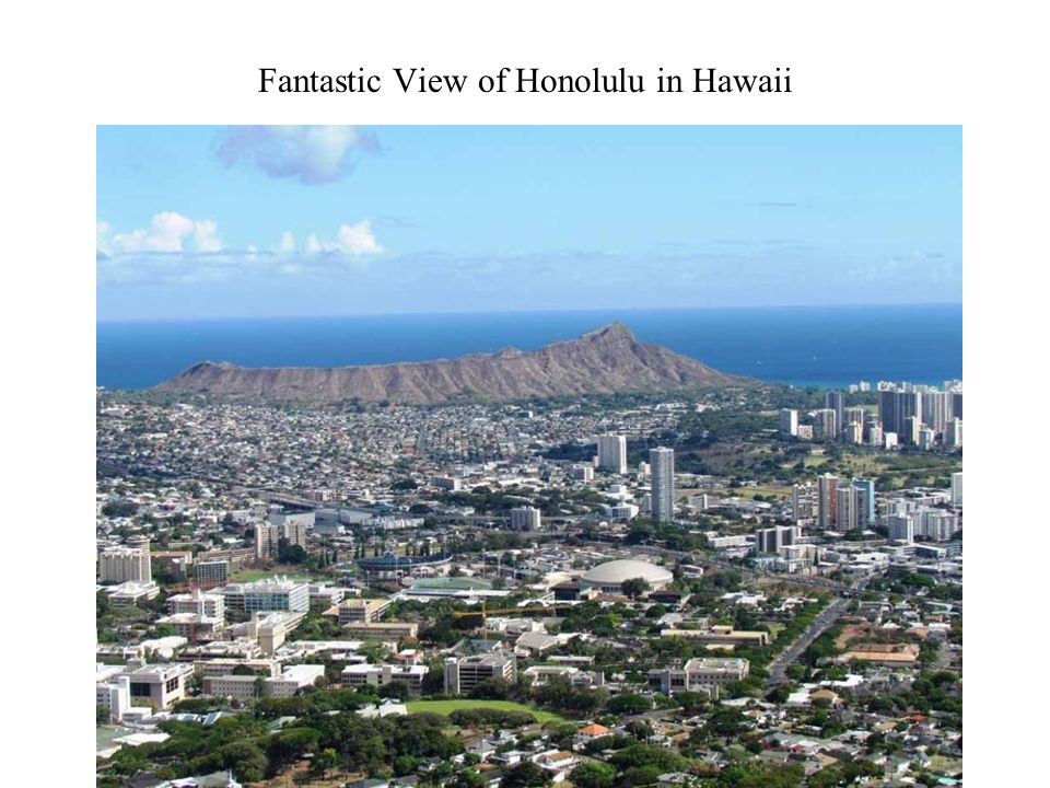 Fantastic View of Honolulu in Hawaii Photography 26