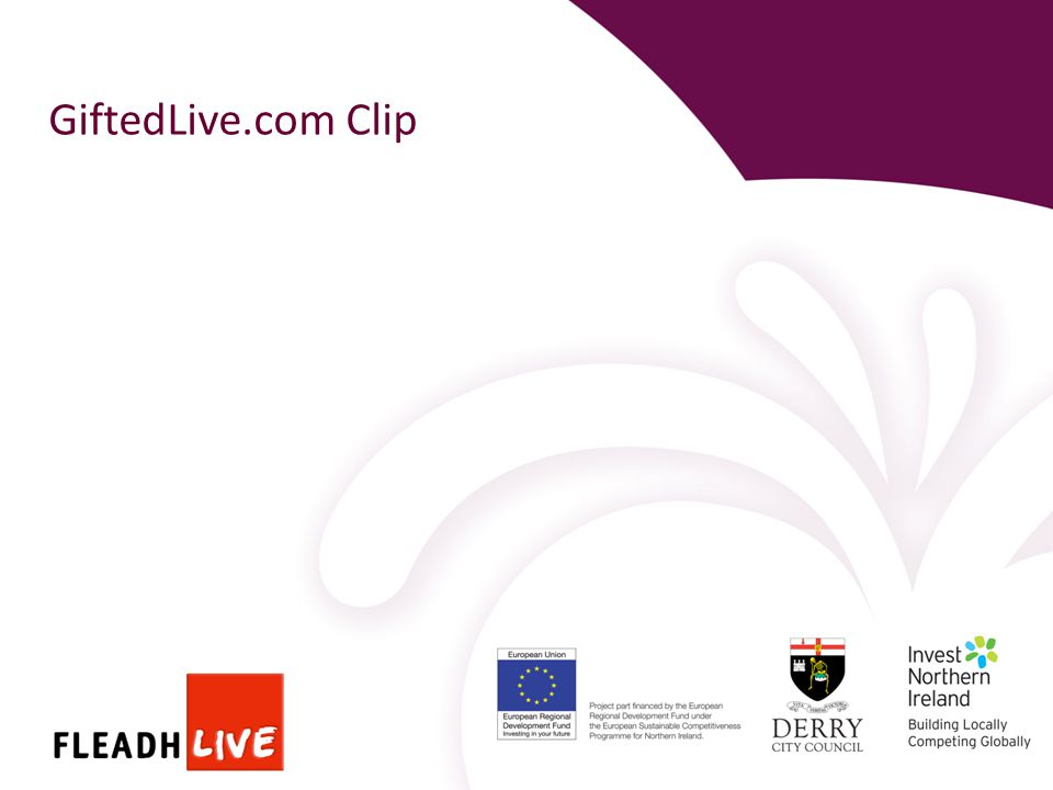 GiftedLive.com Clip
