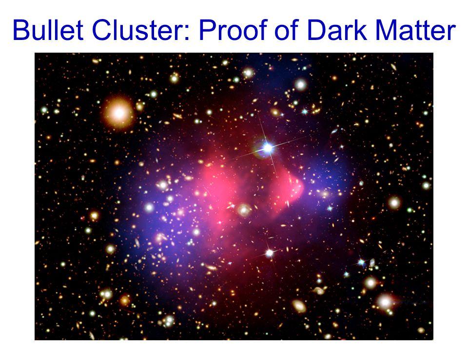 Bullet Cluster: Proof of Dark Matter