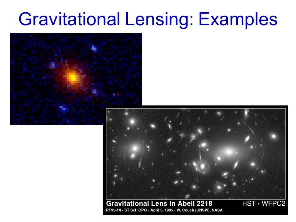Gravitational Lensing: Examples