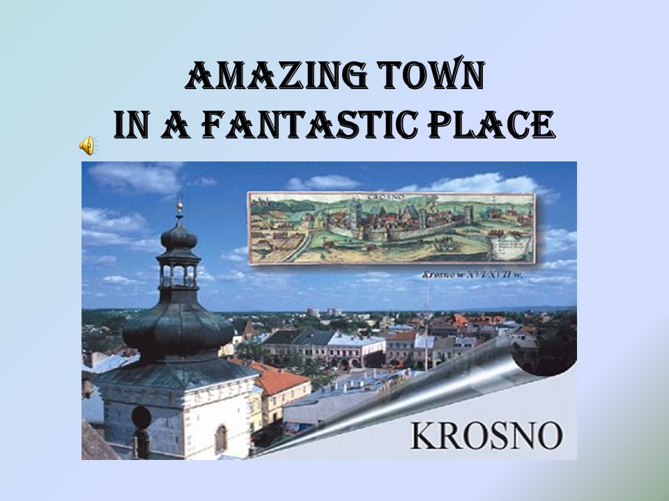 MUSEUMS There are a few interesting museums in Krosno. You can't miss a chance to see them !