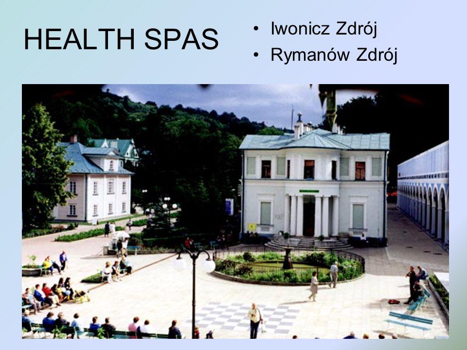 HEALTH SPAS Iwonicz Zdrój Rymanów Zdrój