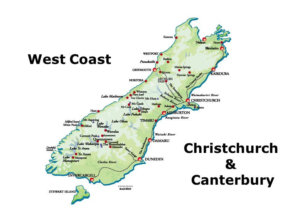 West Coast Christchurch & Canterbury