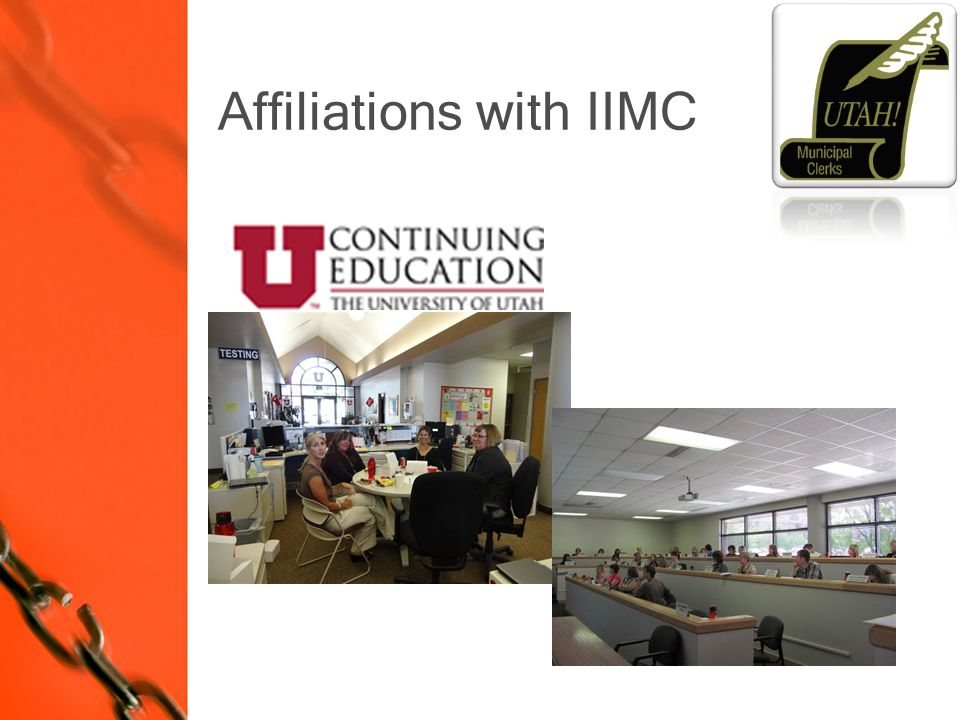 Affiliations with IIMC