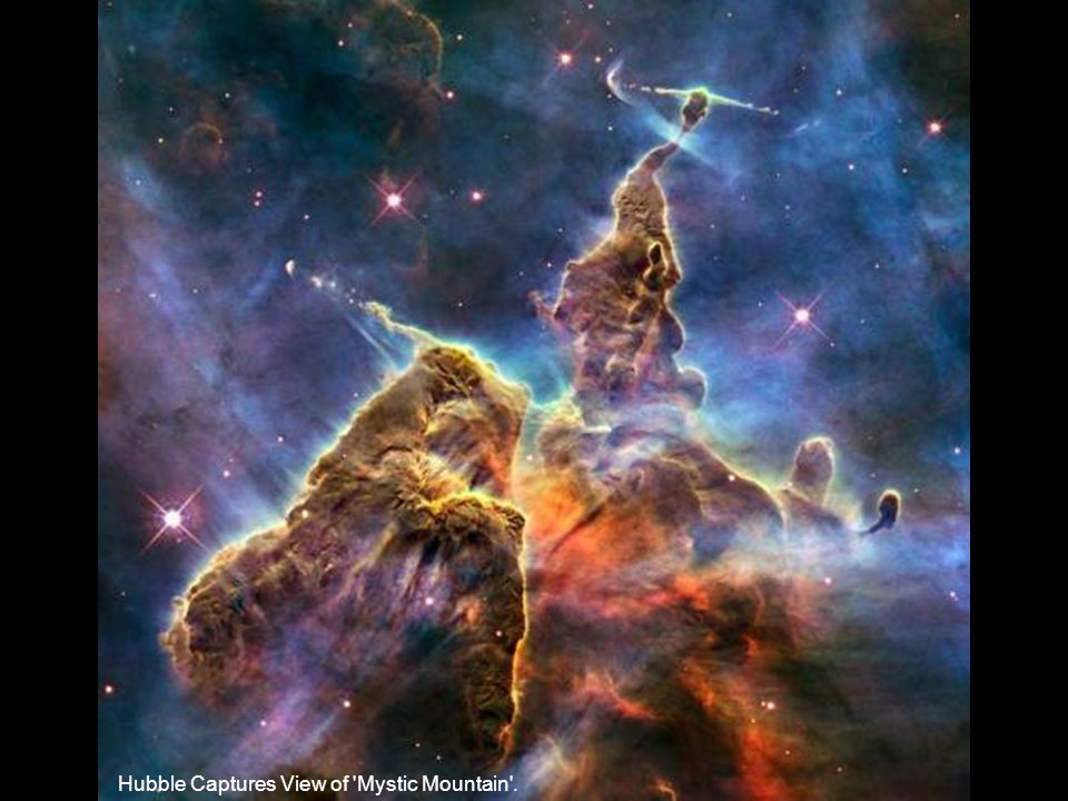 Hubble Captures View of 'Mystic Mountain'.