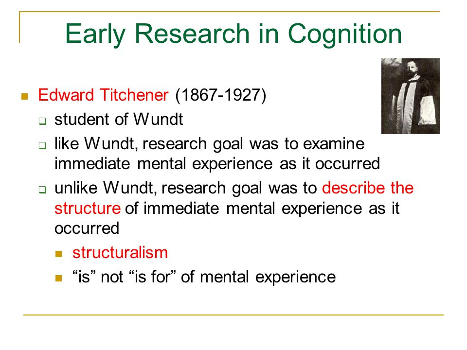 The Classical View of Cognition functionalism  to study cognition, cognitive psychologists study the mind, not the brain  effectively ignores the brain  mental states (functional kind of thing) are multiply realizable i.e., they are implementable in all manner of physically different devices  human brains, computers, Martian 'brains'