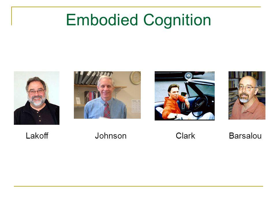 Embodied Cognition LakoffJohnsonClarkBarsalou