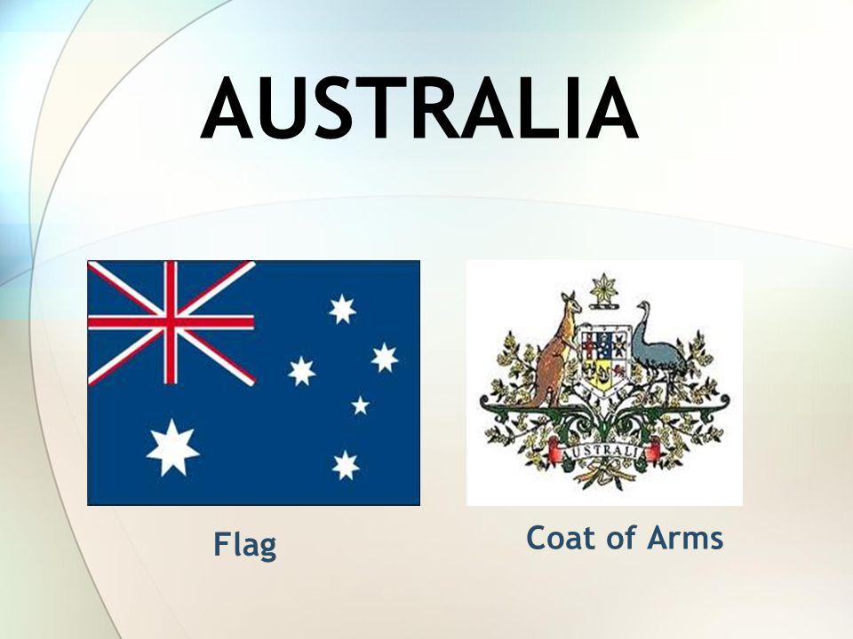 AUSTRALIA Flag Coat of Arms