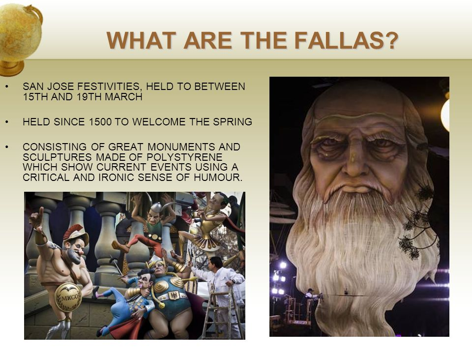 WHAT ARE THE FALLAS.