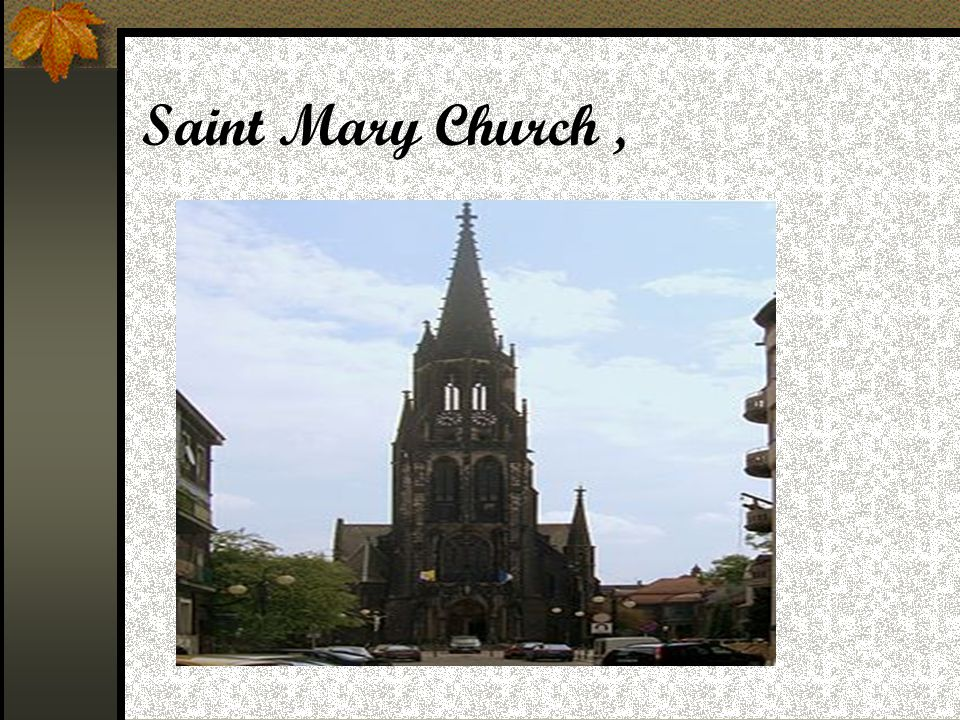Saint Mary Church,