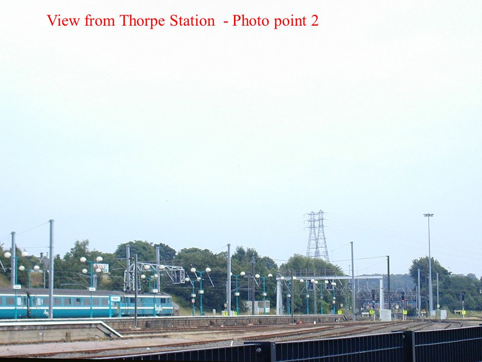 View from Thorpe Station - Photo point 2