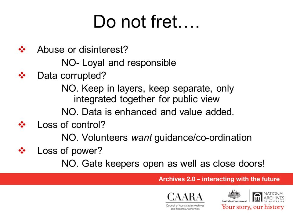 Do not fret….  Abuse or disinterest. NO- Loyal and responsible  Data corrupted.