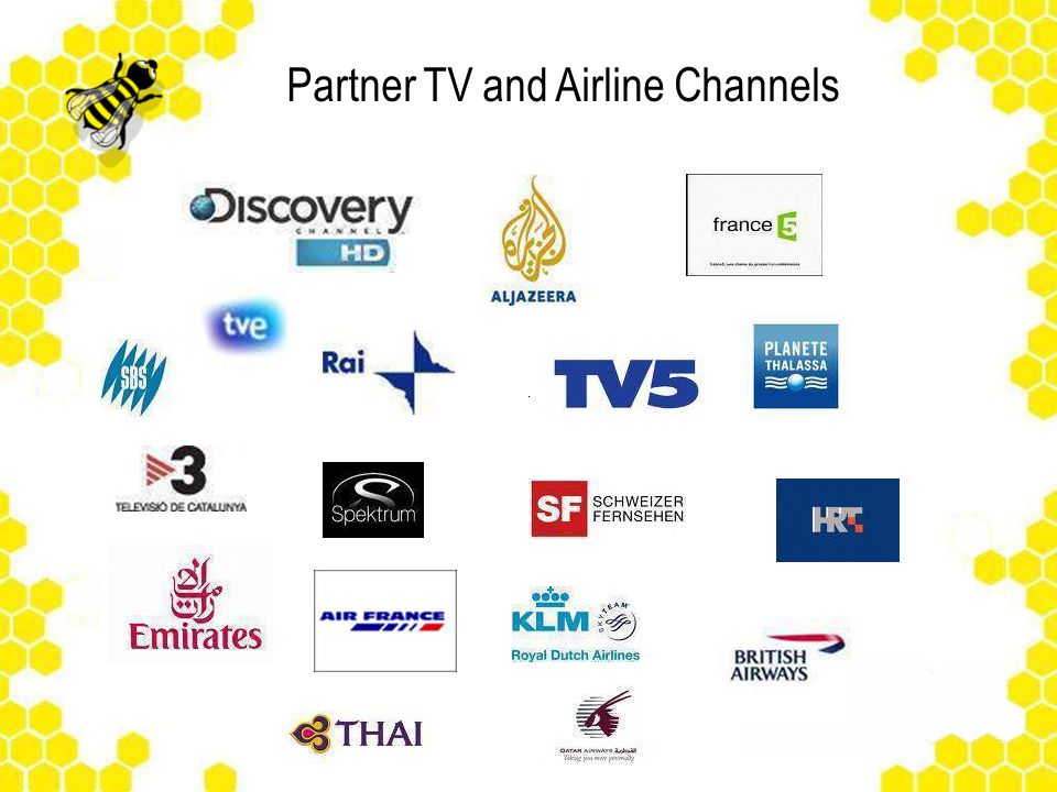 Partner TV and Airline Channels