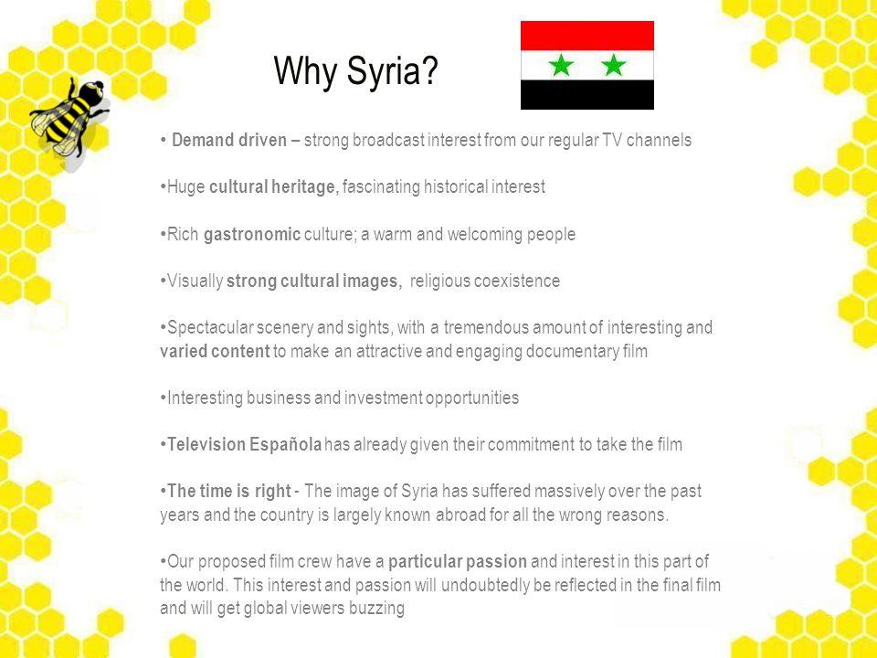 Why Syria.