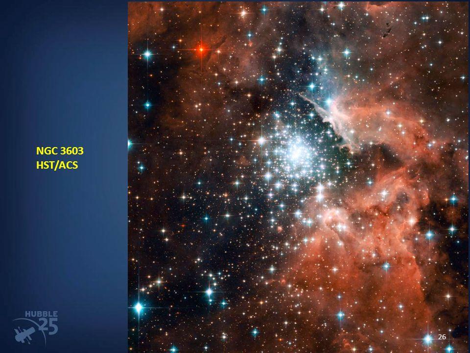 NGC 3603 HST/ACS 26