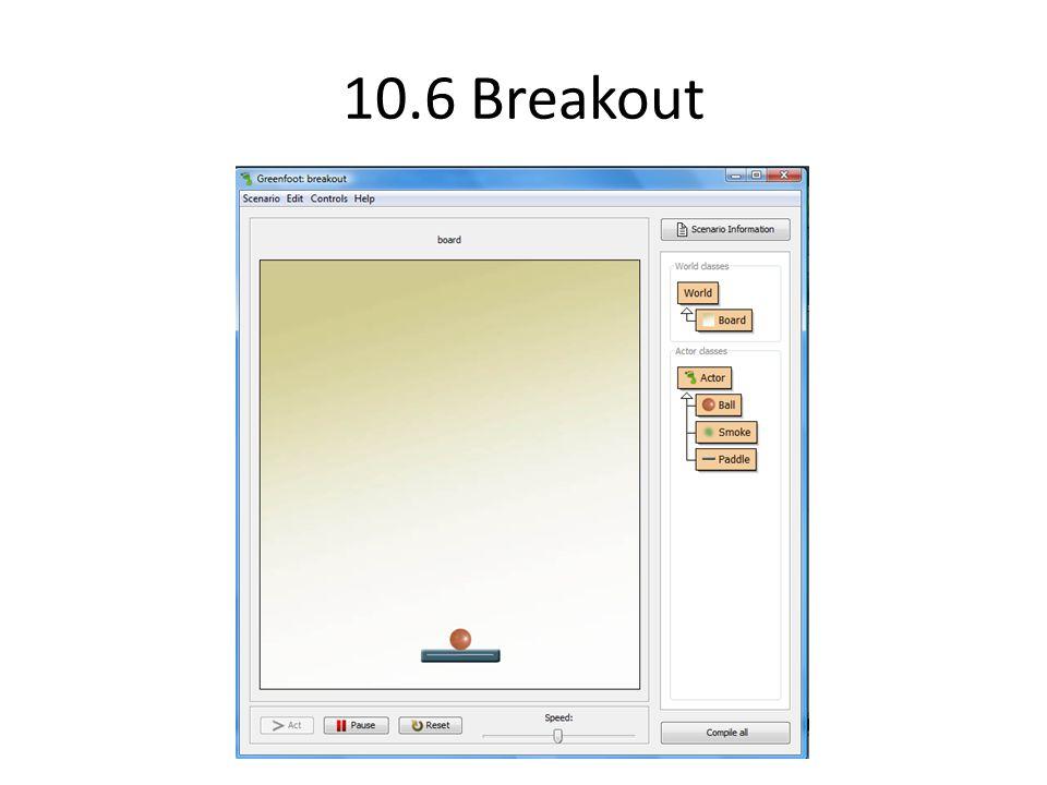 10.6 Breakout