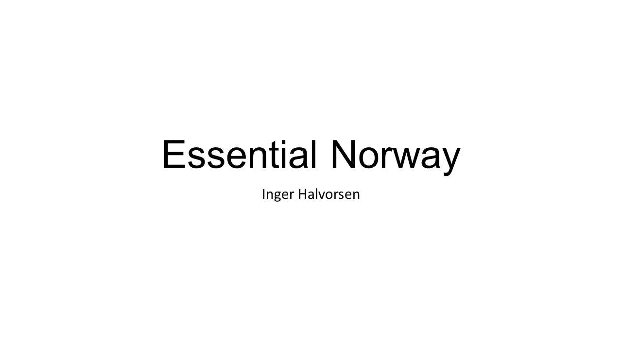 Essential Norway Inger Halvorsen