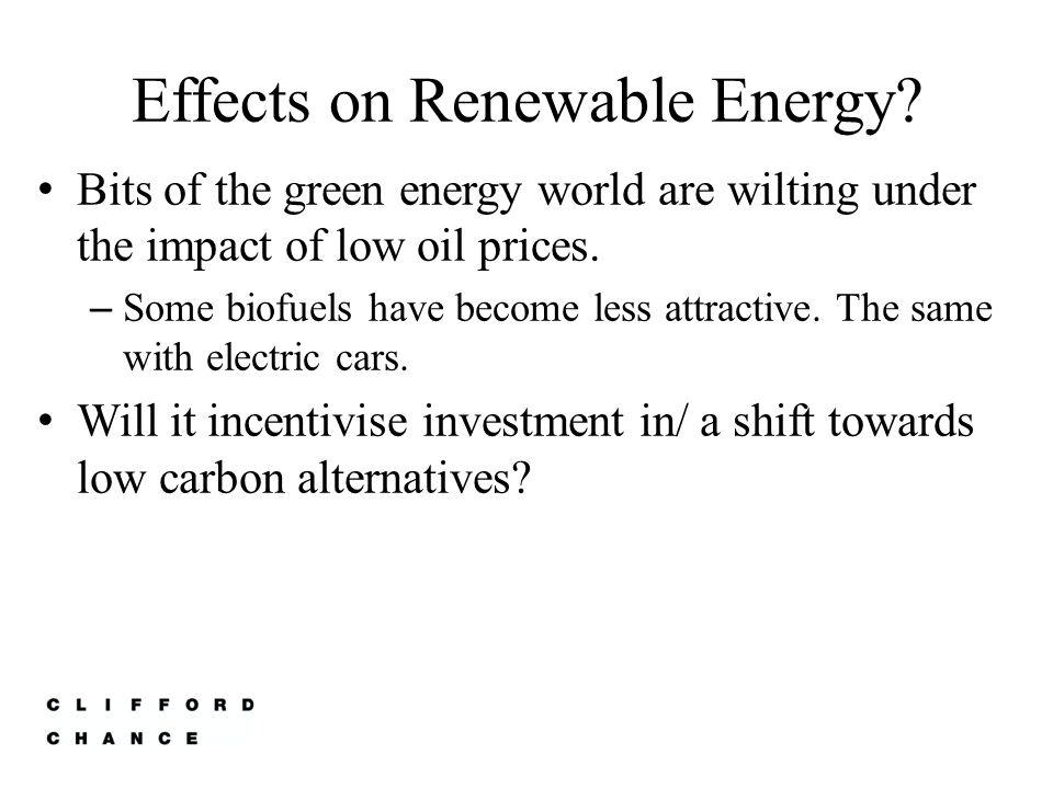 Economist Proposals for Change in Energy Policy Remove all subsidies for producing or consuming fossil fuels.