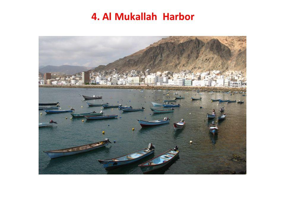 4. Al Mukallah Harbor