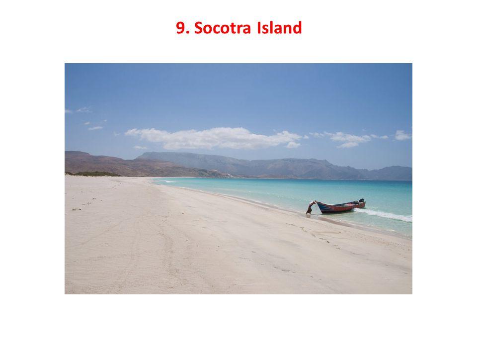 9. Socotra Island