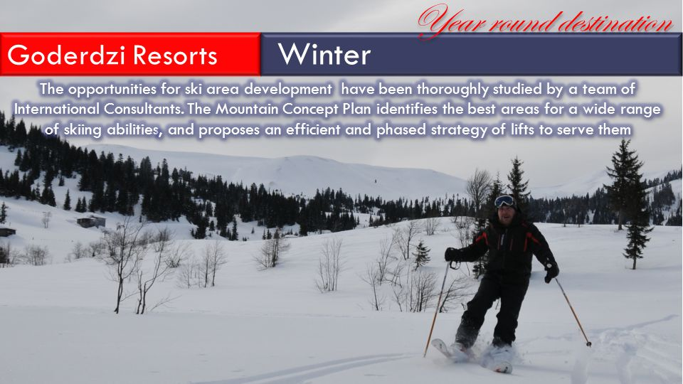 Goderdzi Resorts Winter Year round destination
