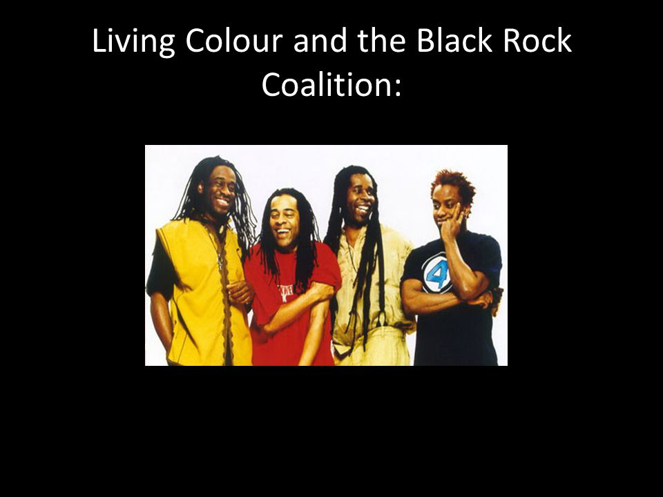 Living Colour and the Black Rock Coalition: