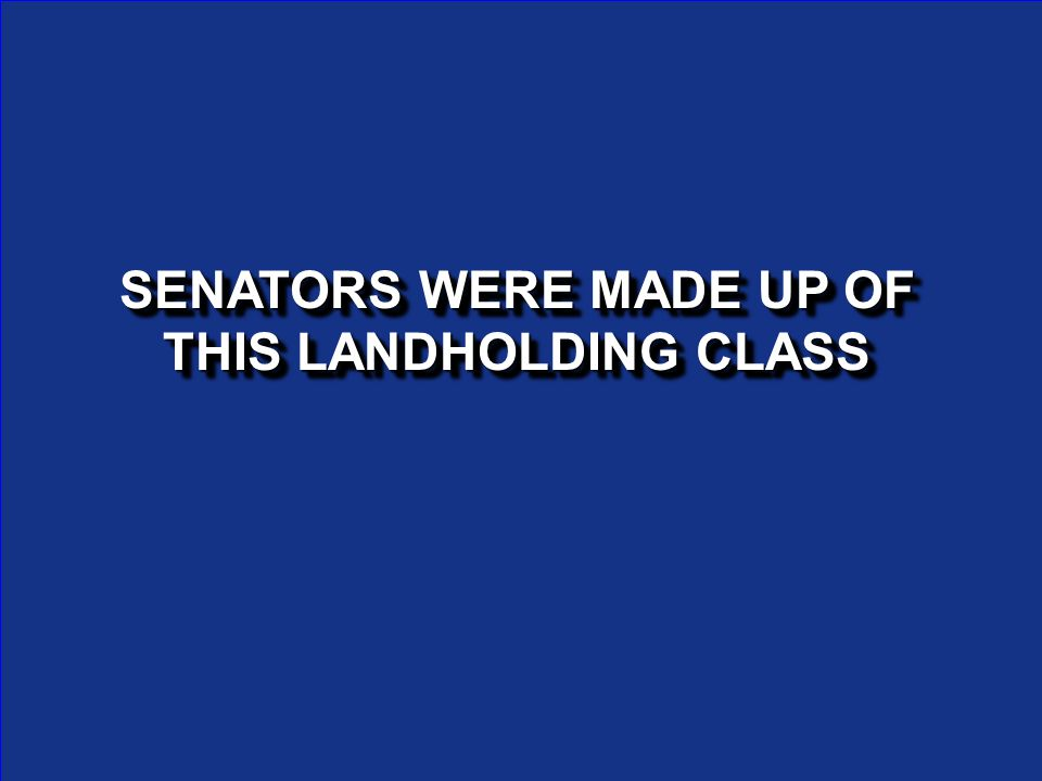 WHAT IS THE SENATE WHAT IS THE SENATE