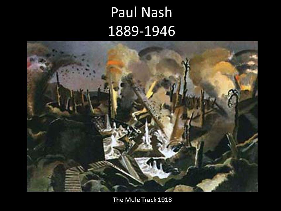 Paul Nash 1889-1946 The Mule Track 1918