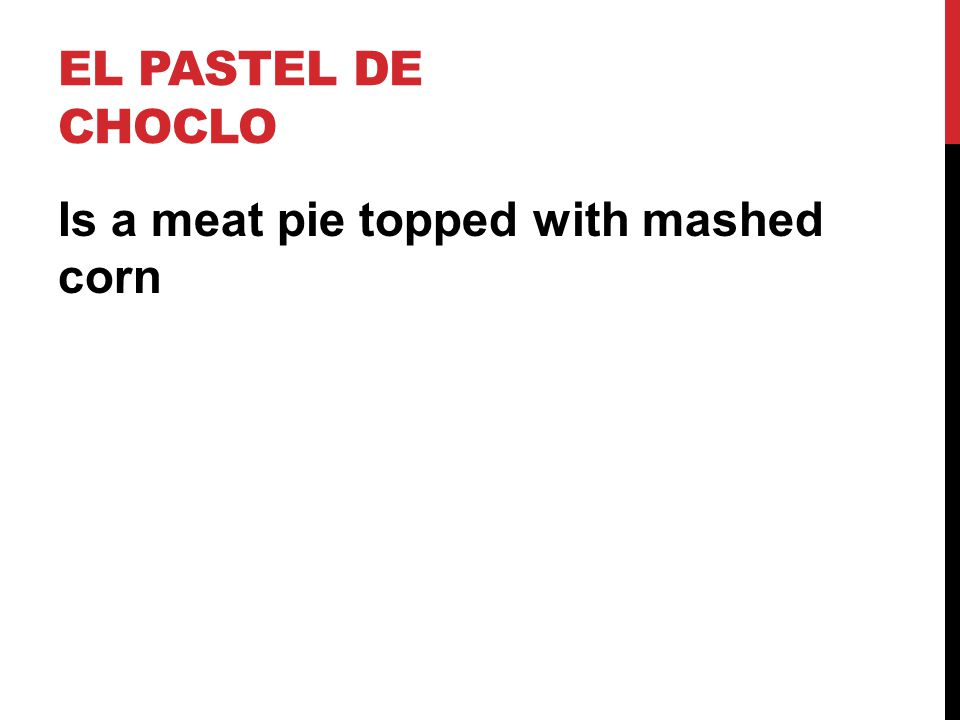 Is a meat pie topped with mashed corn