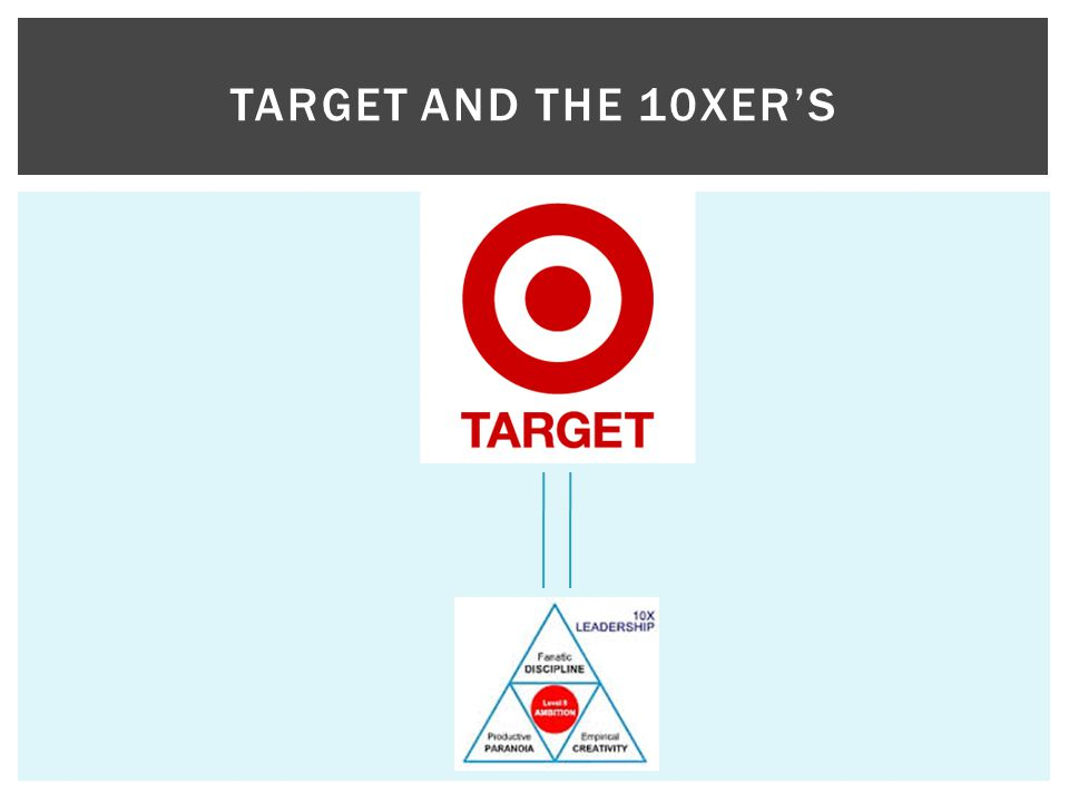 TARGET AND THE 10XER'S